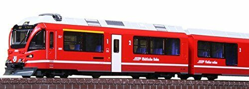 NEW Japan N gauge 10-1318 Rhatische Bahn Bernina Express Basic 5-Car Set