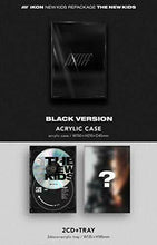 Load image into Gallery viewer, KPOP iKONNEW KIDS REPACKAGE : THE NEW KIDSBlack ver.YGKorea CD