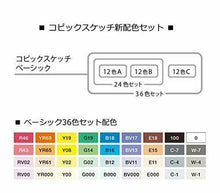 Load image into Gallery viewer, Too Copic Sketch basically 36 Colors Marker Set for Manga Anime With Tracking
