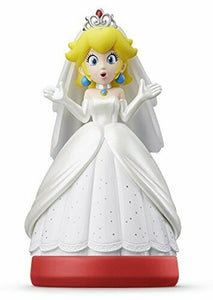 amiibo Triple Wedding Set Mario Peach Kupa Super Mario Series Japan Ver. w/trac#