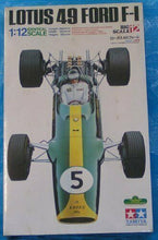 Load image into Gallery viewer, Vintage RARE! TAMIYA 1/12 LOTUS 49 FORD F-1 Big Scale Model Kit 12012 F/S JAPAN