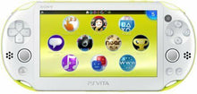 Load image into Gallery viewer, PlayStation Vita Wi-Fi Model Lime Green / White (PCH-2000ZA13) Japan Ver. NEW