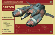 Load image into Gallery viewer, HASEGAWA 1/20 Griffon Pkf.85bis Maschinen Krieger Ma.K.#64104 limited scale kit