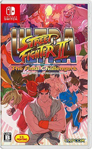 Nintendo Switch Game Ultra Street Fighter II The Final Challengers