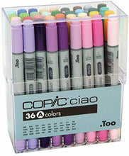 Load image into Gallery viewer, Too Copic Ciao Marker Pen 36 Colors A Set manga NEW w/Tracking# form JAPAN F/S