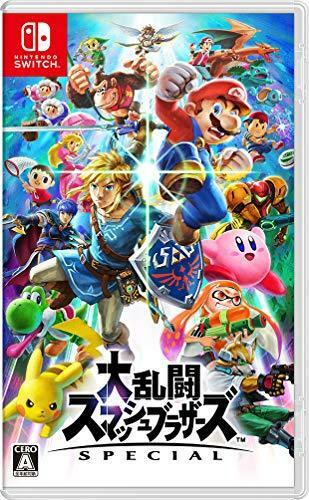 NEW Nintendo Switch Super Smash Bros. SPECIAL JP Ver. Item with factory sealed