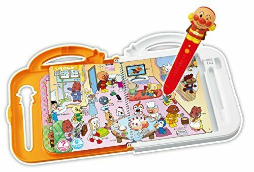 SEGA TOYS JAPAN Anpanman Japanese and English learning computer book EMS F/S Kid