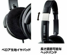 Load image into Gallery viewer, YAMAHA open air type headphone black HPH-200 (BK)