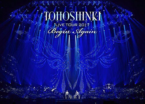 TOHOSHINKI LIVE TOUR 2017 Begin Again 3 DVD 3 Limited Edition Free Shipping