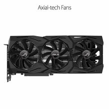 Load image into Gallery viewer, New Asus 2080 Ti ROG Strix 11GB OC Video Card (ROG-STRIX-RTX2080TI-O11G-GAMING)