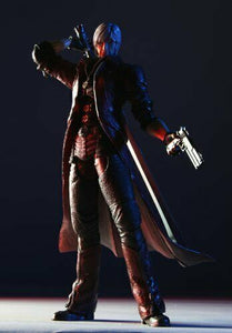 Square Enix Devil May Cry 4 Play Arts Kai Dante Figure NEW from Japan