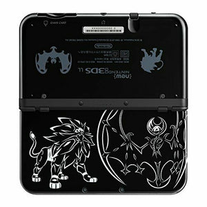 Nintendo 3DS LL XL Console Pokemon Solgaleo Lunala Black Japanese Limited Model