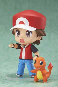 NEW Japan Pokemon Center Trainer Red Nendoroid Figure NOT HONG KONG FAKE F/S