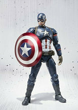 Load image into Gallery viewer, Bandai S.H.Figuarts Captain America (Civil War) Japan version