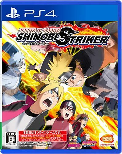 NARUTO TO BORUTO Shinobi striker PS4 Japan Ver. New Item with factory sealed