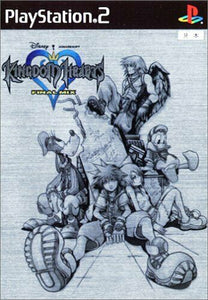 KINGDOM HEARTS -FINAL MIX- Platinum Limited GIOCO USATO SONY PS2 JP F/S