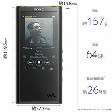 Load image into Gallery viewer, Sony SONY Walkman ZX Series 64GB NW-ZX300: Hi-Res /Bluetooth/microSD/ƒ³4.4mm bal