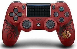 Wireless controller DUALSHOCK 4 MONSTER HUNTER WORLD LIOLAEUS EDITION PS4  Red