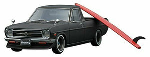 IG1395 ignition model 1:43 Nissan Sunny Truck Long B121 Matt Black Miyazawa
