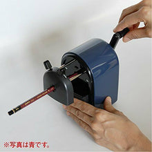 Load image into Gallery viewer, MITSUBISHI pencil sharpener Uni manual sharpener black KH20.24 w/Tracking# JAPAN
