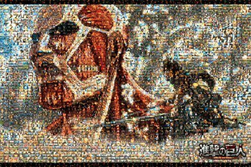 R97-011 Jigsaw Puzzle 1000 Piece [Attack on Titan] Mosaic Art 1000-394
