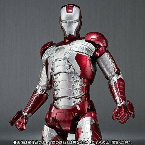 S.H.Figuarts Marvel IRON MAN MARK 5 V Action Figure BANDAI NEW from Japan