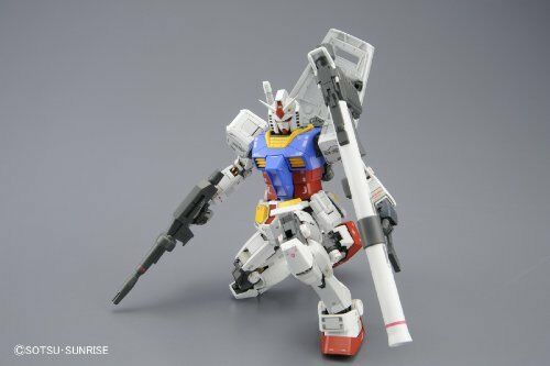 Bandai Hobby MG Gundam RX-78-2 Ver. 3.0 1/100 Scale Action Figure Model Kit NEW