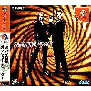 Confidential Mission Brand NEW Dreamcast SEGA Video Game JAPAN dc