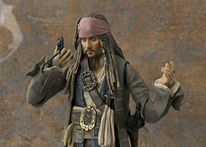 S. H. Figuarts Pirates of the Caribbean Captain Jack Sparrow About 150 mm ABS &