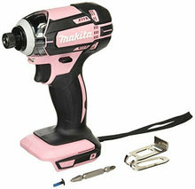 Load image into Gallery viewer, Makita rechargeable impact driver 18V Pink body only TD149DZP  JAPAN Tracking