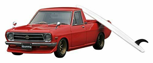 Ignition Model 1/43 Nissan Sunny Truck Long (B 121) Red