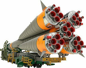 Plastic Model Soyuz Rocket and Carrier 1/150 Scale PS Assembled Plastic Model