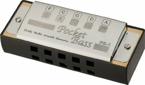 NEW TOMBO Pocket Bass harmonica 1160 from Japan with Tracking F/S