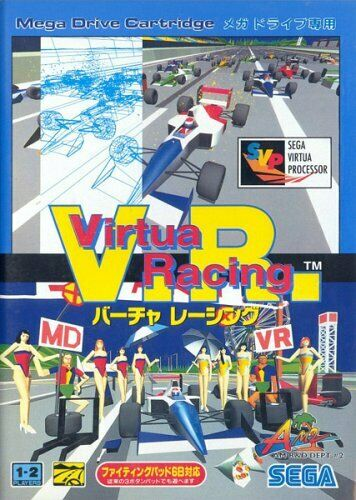 SEGA Mega-Drive Genesis -- Virtua Racing V.R. -- JAPAN GAME. NEW & TESTED!!14022