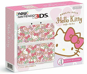 New Nintendo 3DS Kisekae plate pack Hello Kitty Japan import Language Japanese