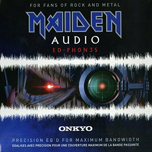 IRON MAIDEN Steve Harris HeadPhone ONKYO Original ED PH0N3S Rock Japan NEW