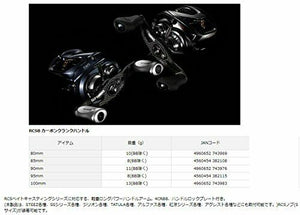 Daiwa SLP WORKS reel RCSB 95mm carbon crank H. SLPWA 042 F/S from JAPAN NEW