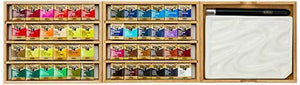 Holbein Artists Pan Color PN699 Water Color 48 Colors Set japan Cube Box New F/S