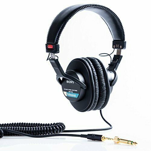 SONY stereo headphone MDR - 7506