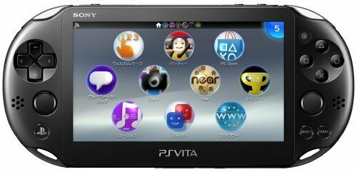 Sony PS Vita Black PCH-2000ZA11 Playstation Wi-Fi Console Japan Model NEW