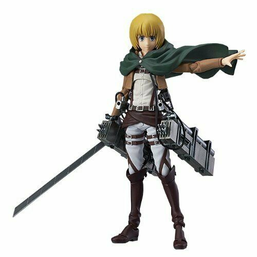 NEW figma Attack on Titan Armin Harlert Max Factory PVC Figure Anime Japan F/S