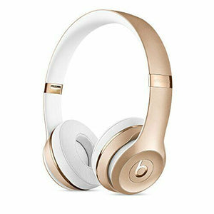 NEW Beats by Dr. Dre Bluetooth Headphone Solo 3 Wireless (Gold) MNER2PA/A