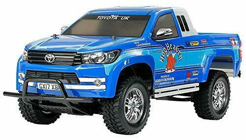 Fast Charge Twin Stick Deal: Tamiya 58663 Toyota Hilux Extra Cab CC-01 RC Kit