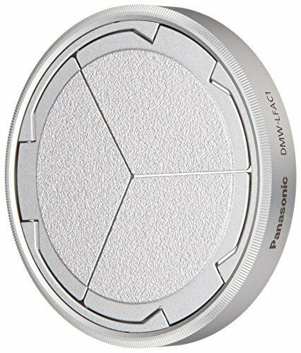 Panasonic DMW-LFAC1S Automatic Lens Cap for Lumix DMC-LX100Silver from Japan f/s