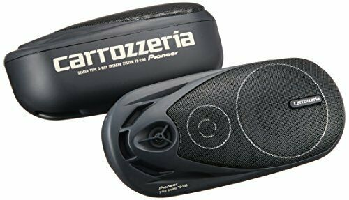Official Pioneer carrozzeria TS-X180 3 Way Pair Speakers 80W EMS from Japan