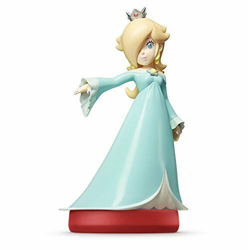 Nintendo amiibo Super Mario Bros. ROSALINA (ROSETTA) 3DS Wii NEW from Japan F/S