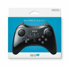 Load image into Gallery viewer, New Nintendo Official Authentic Wii U PRO Wireless Controller Pad Black JAPAN FS