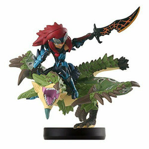 NEW Nintendo amiibo LIOLEIA & CHEVAL Monster Hunter Stories Figure JAPAN 3DS F/S