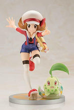 Load image into Gallery viewer, KOTOBUKIYA ARTFX J Lyra with Chikorita 1/8 PVC Figure Kotone Pokemon