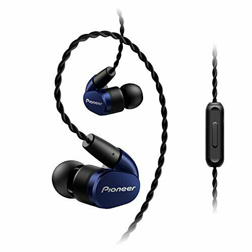 PIONEER Hi-Res Canal type Earphone SE-CH5T-L Navy Blue New in Box